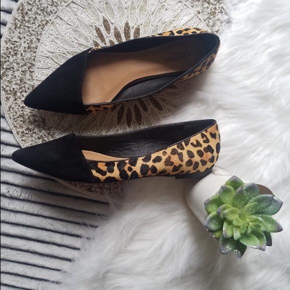 Leopard Print Noelle Flats Size 85